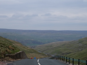 The top of Buttertubs Pass looking north