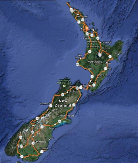 NZ route