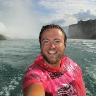 Luke Yates at Niagara Falls