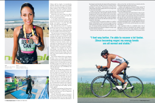 Madi Serpico: Destined to Tri It (Triathlon Magazine Canada)