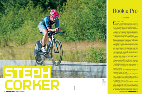 Steph Corker: Rookie Pro (Triathlon Magazine Canada)